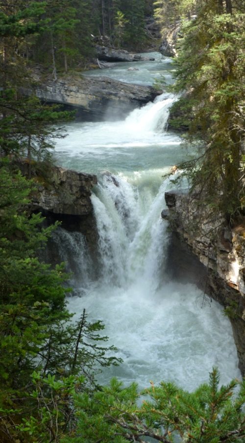 Johnston Canyon Falls 4