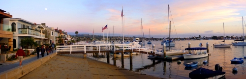 Balboa Island Pano